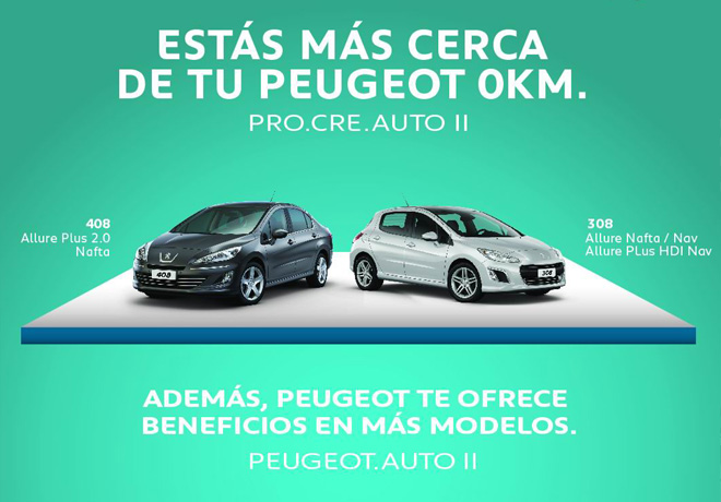 Peugeot - Pro Cre Auto II thumb