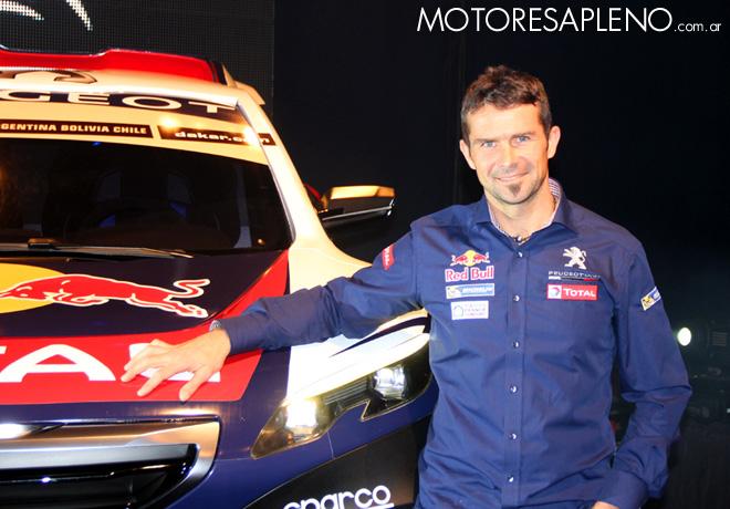 Peugeot Sport presento su equipo oficial para el Dakar 2015 en Buenos Aires