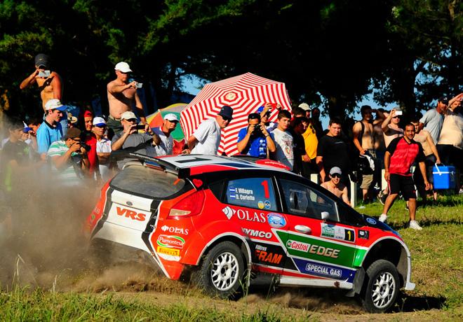 Rally Argentino - Concepcion del Uruguay 2014 - Etapa 1 - Federico Villagra - Ford Fiesta MR