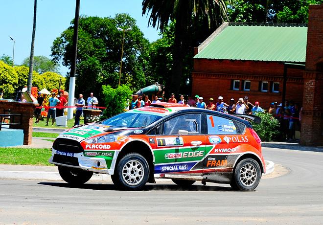 Rally Argentino - Concepcion del Uruguay 2014 - Final - Federico Villagra - Ford Fiesta MR