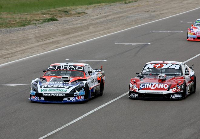 TC - Trelew - Matias Rodriguez -Dodge- y Matias Rossi -Chevrolet
