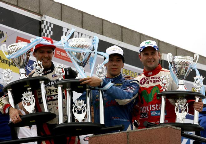 TC - Trelew - Rossi - Rodriguez - Ledesma en el Podio