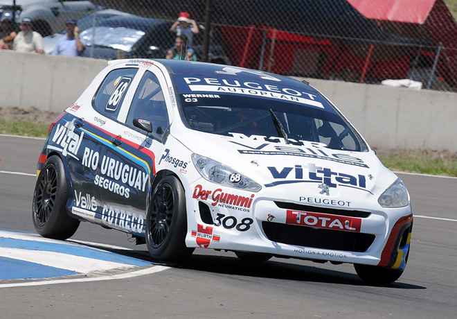 TN - Concordia 2014 - Clase 3 - Mariano Werner - Peugeot 308