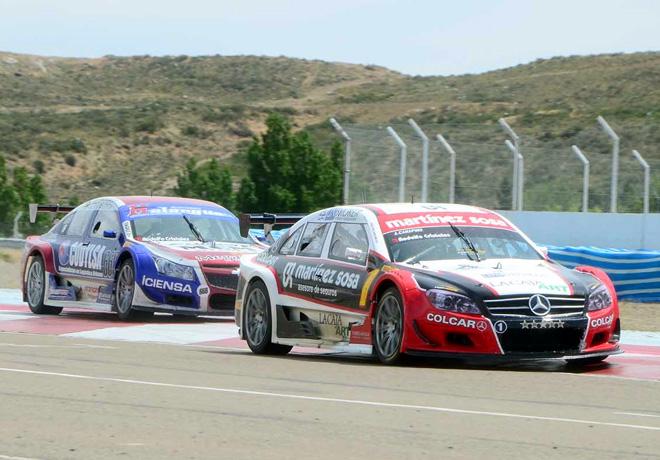 Top Race - Comodoro Rivadavia 2014 - Agustin Canapino - Mercedes-Benz y Gustavo Tadei - Chevrolet Vectra