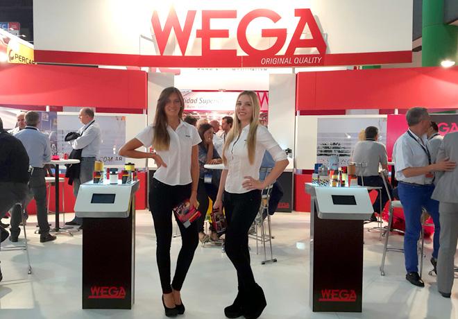 WEGA estuvo presente en Automechanika 2014