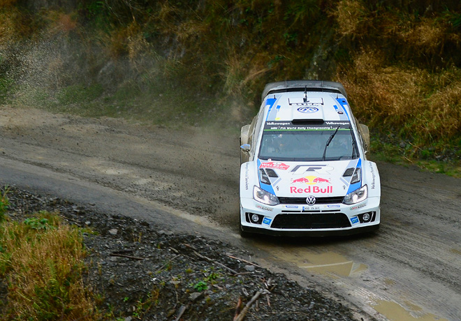 WRC - Gales 2014 - Dia 1 - Sebastien Ogier - VW Polo R