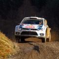 WRC - Gales 2014 - Dia 2 - Sebastien Ogier - VW Polo R