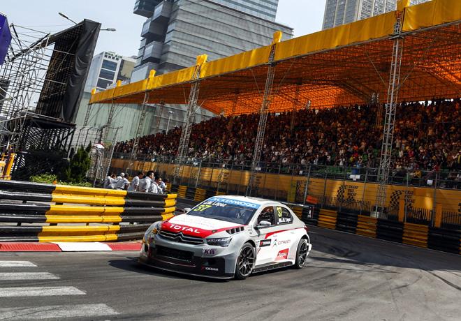 WTCC - Macao - Carrera 1 - Jose Maria Lopez - Citroen C-Elysee