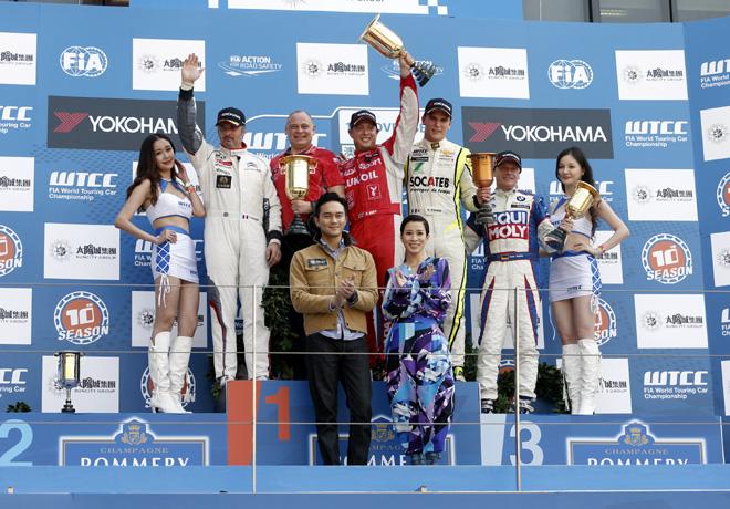 WTCC - Macao - Carrera 2 - El Podio