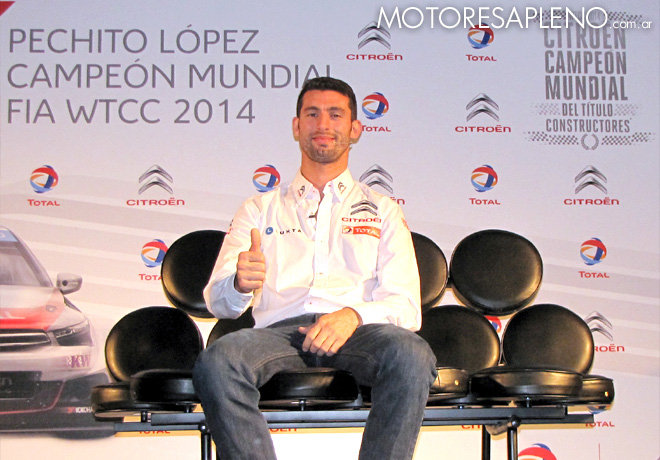 WTCC - Pechito Lopez - El Campeon Mundial cuenta su experiencia 2