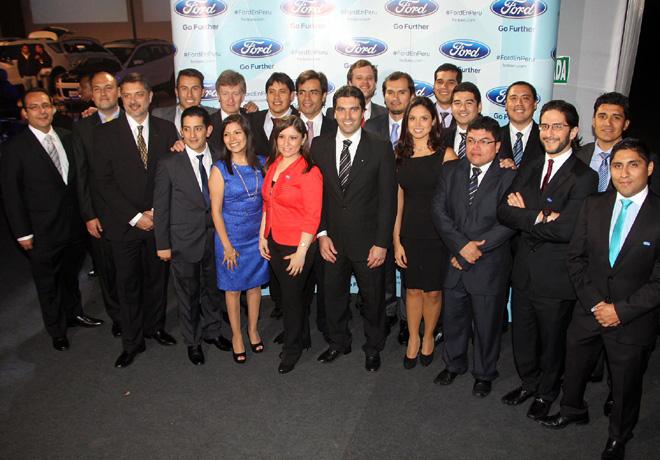 Ford Motor Company inauguro su filial en Peru