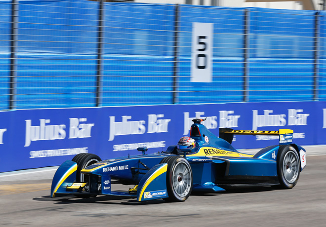 Formula E - Punta del Este - Uruguay 2014 - Sebastien Buemi - e-dams-Renault