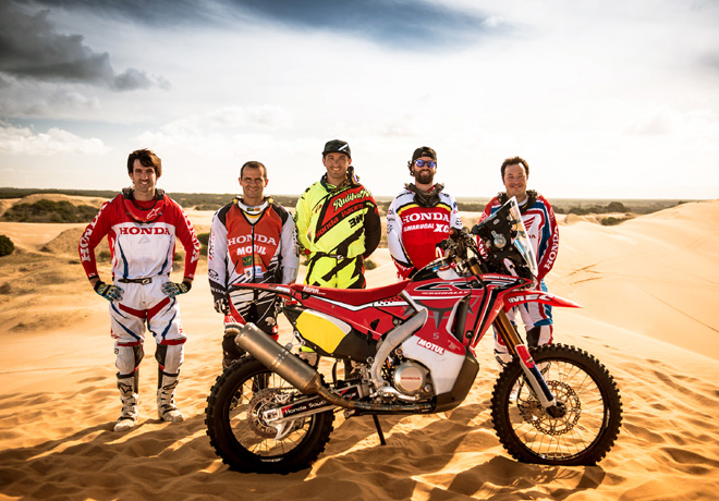 Honda South America Rally Team Dakar 2015