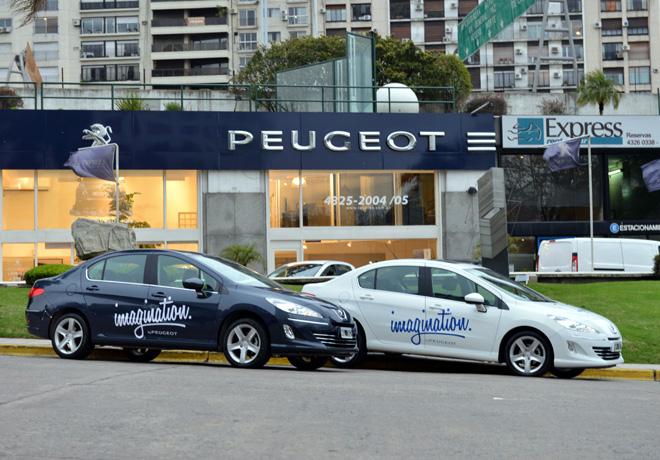 Imagination By Peugeot - Nuestras Fundaciones se mueven en 408