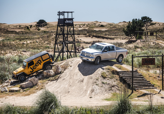 Jeep y RAM - Verano 2015 - Off Road Park