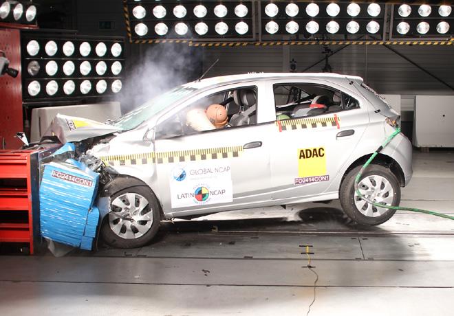 Latin NCAP - Chevrolet Onix