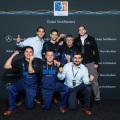 Mercedes-Benz - Equipo argentino que viajo a Alemania