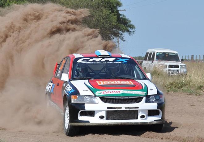 Rally Federal - Lezama - Alejandro Levy - Mitsubishi Lancer EVO