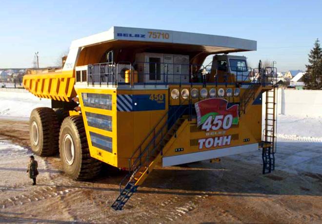 Siemens - Camion minero