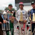 TC Pista - Buenos Aires - Echevarria Campeon - Urcera - Ebarlin en el Podio