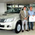 Toyota Plan de Ahorro entrego el primer vehiculo adjudicado