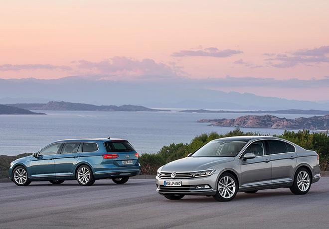 VW Passat y Passat Variant