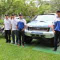 YPF - Dakar 2015 - Domaszewski - Bonetto - Memi - Villagra junto a sus vehiculos