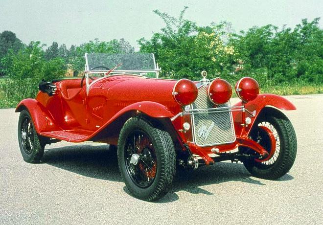 Alfa Romeo - 1750 Gran Sport (1930)