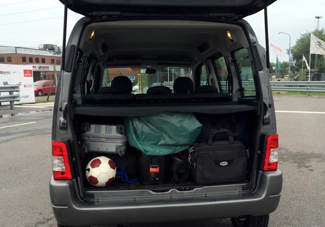 Citroen - CESVI - Carga y distribucion de peso en los vehículos son claves de la seguridad 1