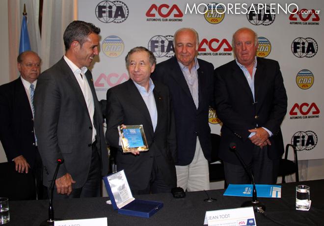 Conferencia de prensa de Jean Todt en el Automovil Club Argentino 2