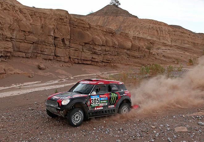Dakar 2015 - Etapa 3 - Orly Terranova - MINI