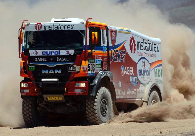 Dakar 2015 - Etapa 7 - Ales Loprais - MAN