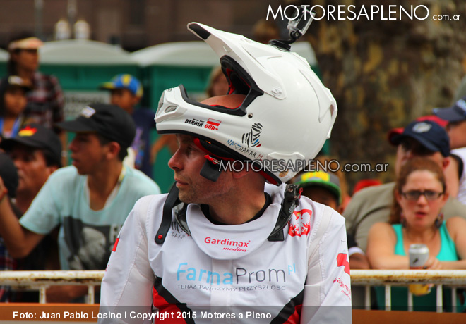 Dakar 2015 - Michal Hernik - KTM No82 3