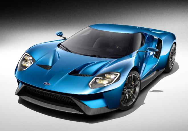 Ford GT con motor EcoBoost de mas de 600 CV y fibra de carbono 1