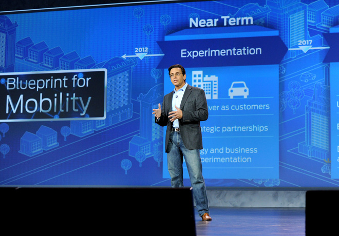 Ford - Mark Fields - CES 2015 1