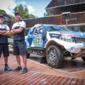 Ford junto a Federico Villagra realizo una demostracion con la Ranger 1