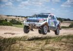 Ford junto a Federico Villagra realizo una demostracion con la Ranger 4