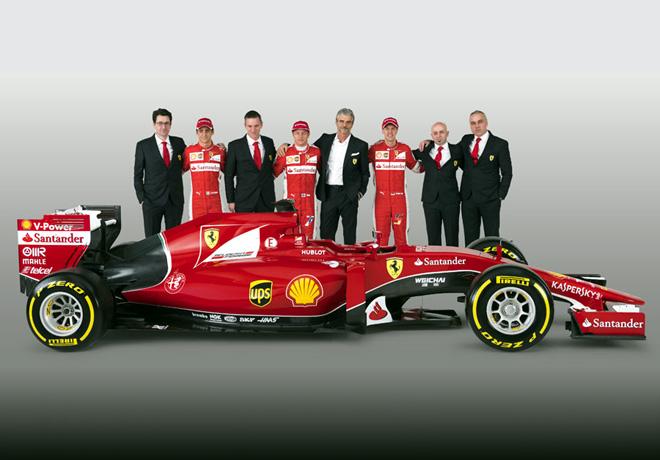Formula 1 - Ferrari SF15-T 1