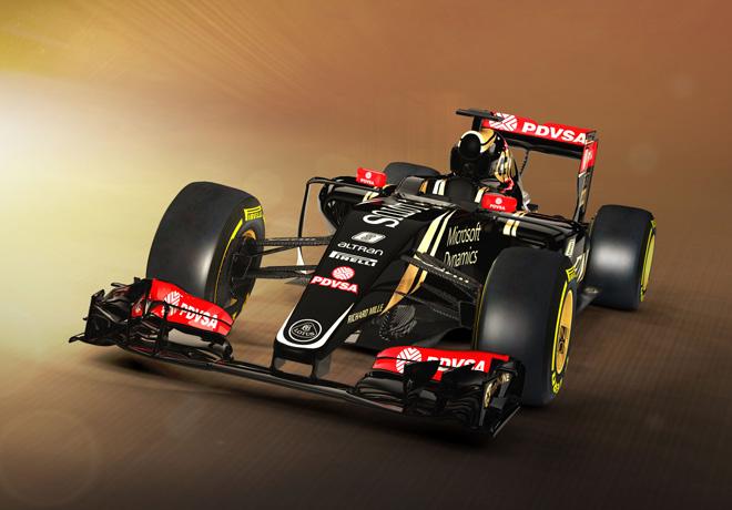 Formula 1 - Lotus E23 Mercedes-Benz 1