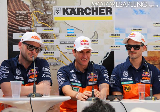 Karcher - Presentacion Equipo KTM 2