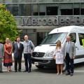 Mercedes-Benz dona un Sprinter a la Sociedad Alemana de Beneficencia 1