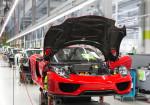 Porsche - Linea de montaje del 918 Spyder 3