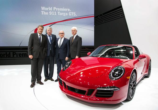 Porsche - Salon de Detroit 2015 - 911 Targa 4 GTS 1
