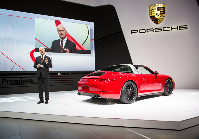 Porsche - Salon de Detroit 2015 - 911 Targa 4 GTS 2