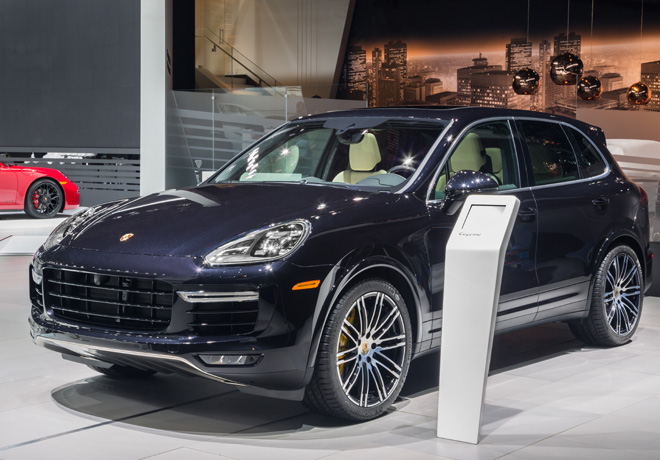 Porsche - Salon de Detroit 2015 - Cayenne Turbo S