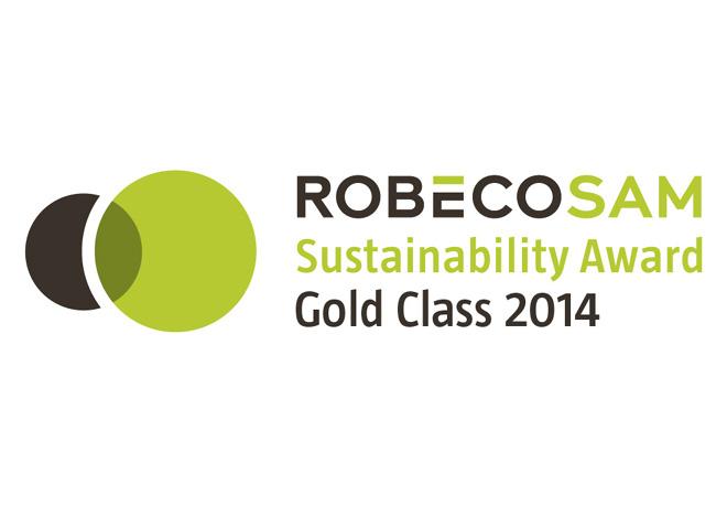 RobecoSAM - Sustainability Award Gold Class 2014