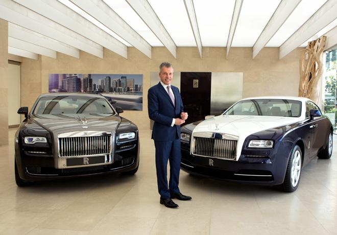 Rolls-Royce celebra el quinto récord consecutivo de ventas