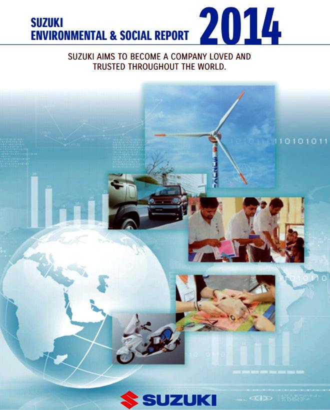 Suzuki - Reporte Social y Ambiental 2014