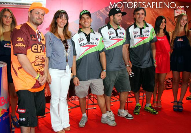 Total -  Pilotos Dakar 1