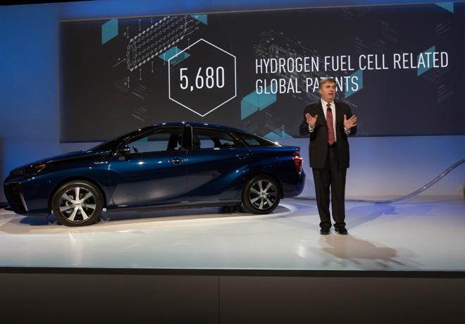Toyota - CES 2015 - Bob Carter - VP de Operaciones - Toyota Motor Sales USA Inc